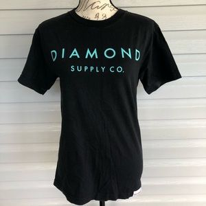 Diamond supply co teal and black